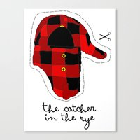 catcher in the rye Canvas Prints featuring Catcher in the Rye by Marianna