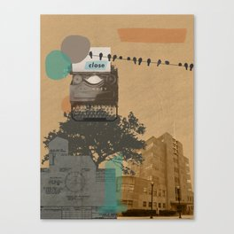 The future will not be monospaced Canvas Print