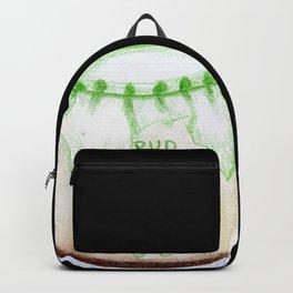 Bear Pudding, Japanese conbini sweets illustration Backpack