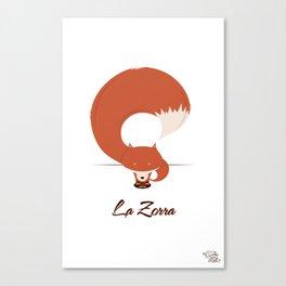 La Zorra Canvas Print