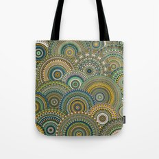 Mandala Mania-Mineral colors Tote Bag