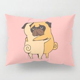 Pug Hugs Pillow Sham