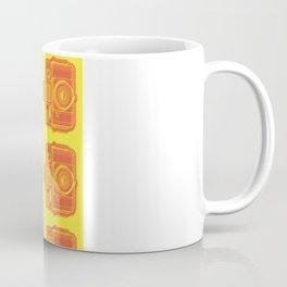 I Still Shoot Film Holga Logo - Yellow & Red Coffee Mug