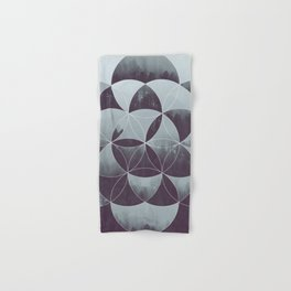 Sacred Geometry in the Forest Hand & Bath Towel