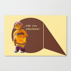 are you dreaming? Canvas Print