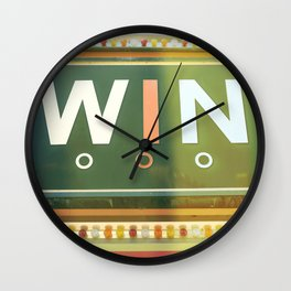 Win Wall Clock