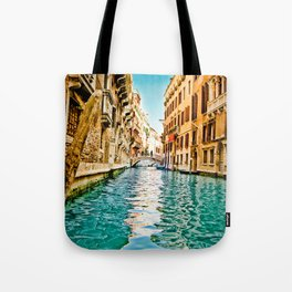 Streets of Venice Tote Bag