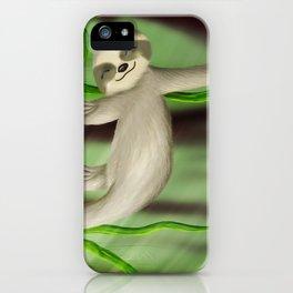 Just slothin' iPhone Case