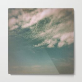 Minimal Clouds Metal Print