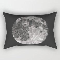 Abstract Full Moon Rectangular Pillow