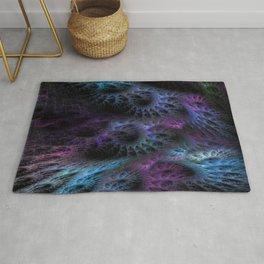 Cocons fractal art Rug