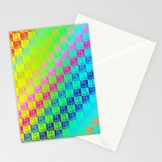 Little dogs multicolor Stationery Cards