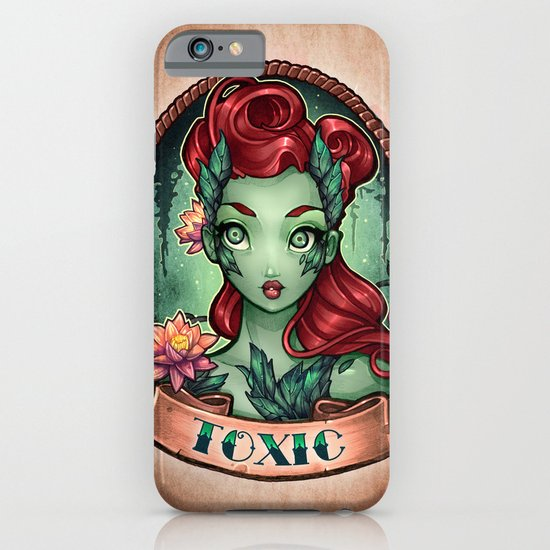 TOXIC pinup iPhone & iPod Case
