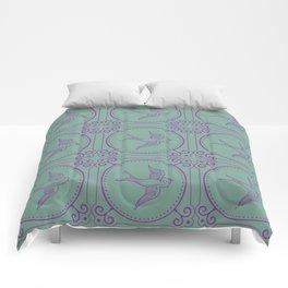 Lady Mary's Birds In Flight Comforters