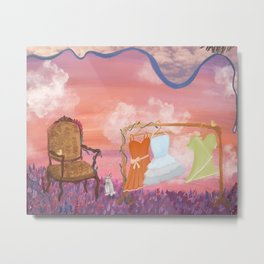 Enchanted Meadow Metal Print