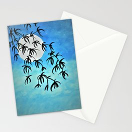 Early Evening Moon Stationery Cards