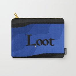Loot: Color Ocean-Blue Carry-All Pouch