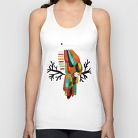 paradise Tank Tops featuring Paradise by Picomodi