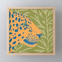 Amur Leopard Framed Mini Art Print