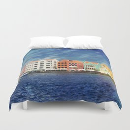 Willemstad, Curaçao Duvet Cover