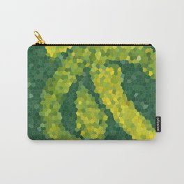 Mosaic: Yellow Ribbon Carry-All Pouch