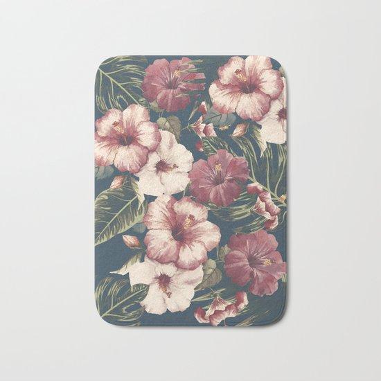 Flower pattern A Bath Mat