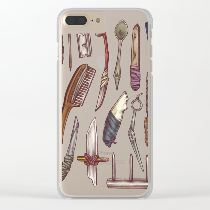 Shanks & Shivs Clear iPhone Case