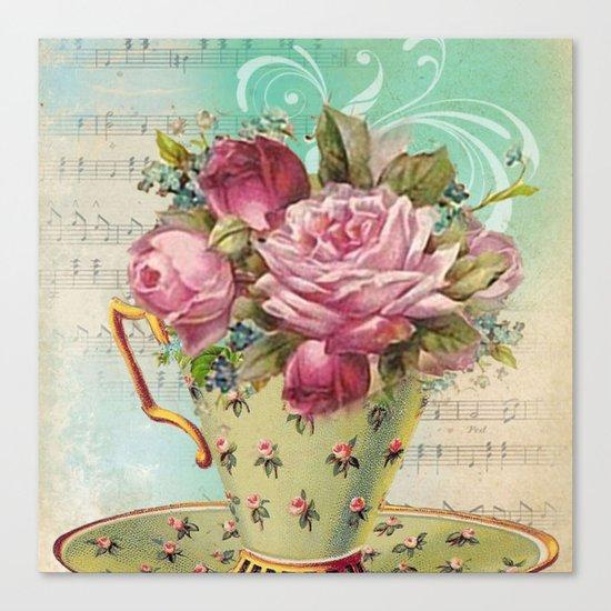Tea flowers #6 Canvas Print