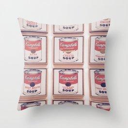 SOUPY Throw Pillow