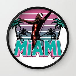 """The Victrs """"Welcome To Miami"""" Wall Clock"""