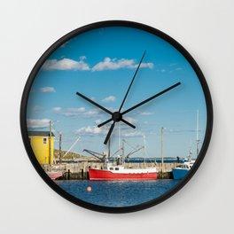 Northwest Cove Wall Clock