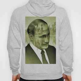 V. Putin on transparent Moscow skyline background  009 04 03 17 Hoody
