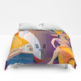 Boat Show Girl Comforters