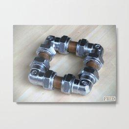 Copper and Chrome Smart Art - FredPereiraStudios.com_Page_01 Metal Print