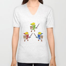 Links! Unisex V-Neck