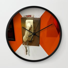 Tell It To Me Straight Wall Clock