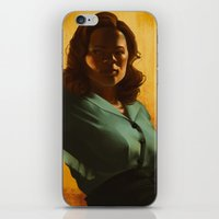 agent carter iPhone & iPod Skins featuring Agent Carter by Celina Hulshof