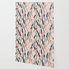 Straight Geometry Ribbons 1 Wallpaper