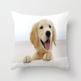 Love Dogs Dog Groomer Paw Print Grooming Cute Throw Pillow