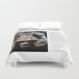 My Life Is Like A Collage / Art Stories Duvet Cover