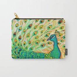 Pretty Pretty Peacock Carry-All Pouch