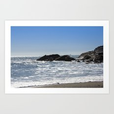 Cornishseascapes Gunwalloe 01 Art Print