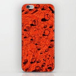 Sphere pattern iPhone Skin