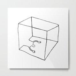 Get Cubed Metal Print