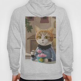 Yummy ice cream and a Cat Hoody