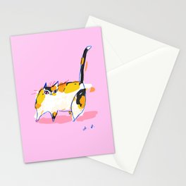 Colette Cat Print Stationery Cards