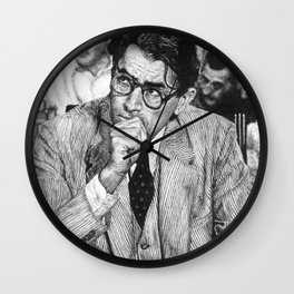 To Kill A Mockingbird Wall Clock