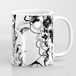 With Flowers in Her Hair No. 5 Coffee Mug