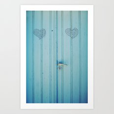 The Love Door Art Print