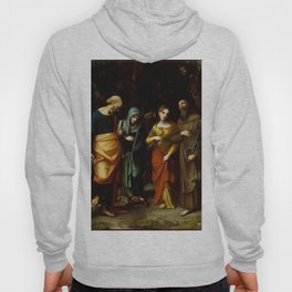 "Antonio Allegri da Correggio ""Saints Peter, Martha, Mary Magdalen, and Leonard"" Hoody"